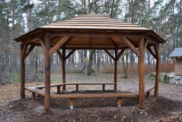 Pavillon eicheholz
