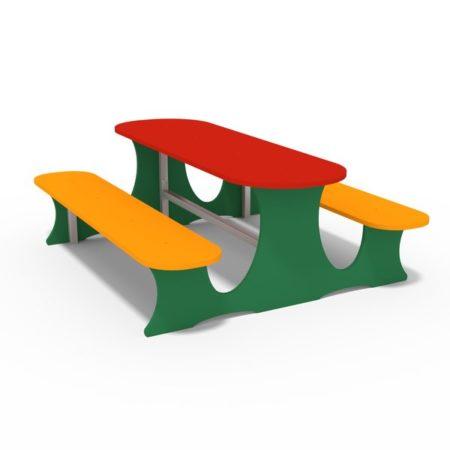 picknick sitzbank mit Tisch